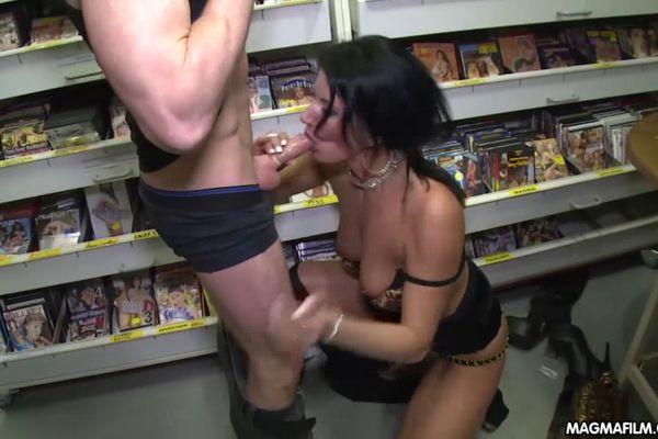 Hard core gangbang sex