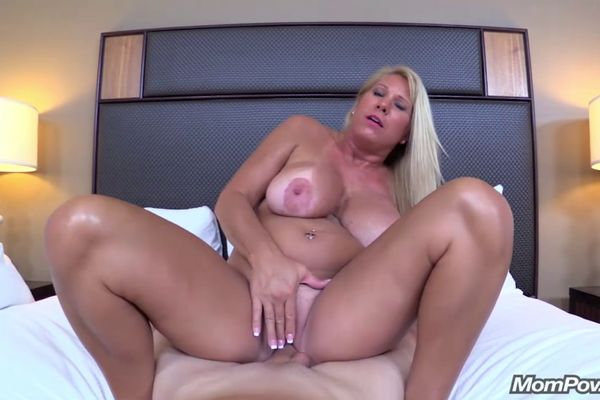 Recollect Blonde milf huge tits something