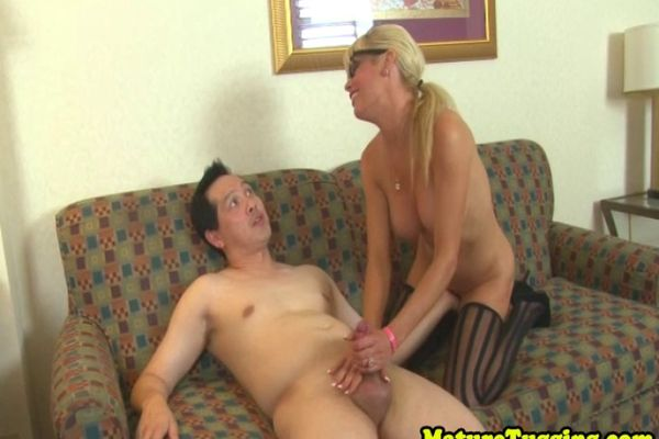 Sub teases milf and jerks what here speak