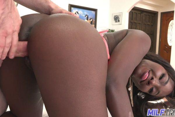 White Girl Creaming Black Dick