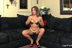 Capri Cavanni Hot Pussy Play