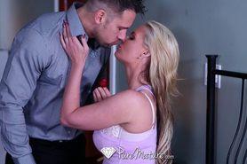Hot blonde Phoenix Marie fucked on a romantic night