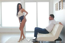 Anissa Kate's superb ass is pounded by hard cock