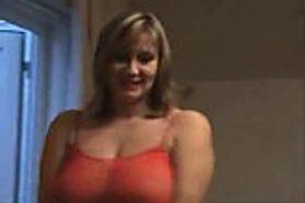 Dirty talking british wife sucks fucks then takes a facial