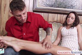 Busty rich babe Jada Stevens gets nailed