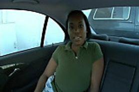 Backseat Ebony BBW