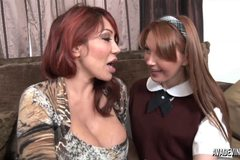 Ava Devine and teen Marie Mccray