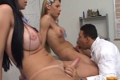 TRANSSEXUAL SCHOOLGIRLS 3 - Scene 4