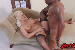 Holly Heart loves it when she feels pierced by a big black cock