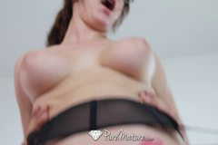 Hot Holly Michaels gets home for some real sexy work