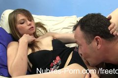 Adorable hardcore amateur squirts her orgasm