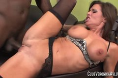 Veronia Avluv with big black cock