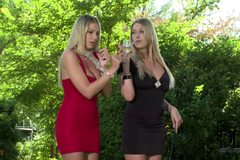 Danielle Maye and Lexi Lowe