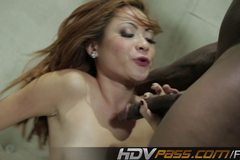 Sissy Cuckold Watches Kim Blossom Fuck a BBC
