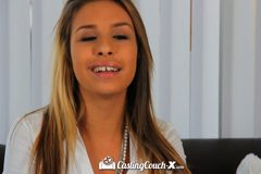 Petite latina Carmen Caliente wants to do porn
