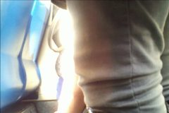 Tube Upskirt in the Morning Sunshine 2