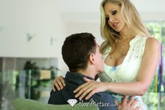 Hot Milf Julia Ann loves a big dick