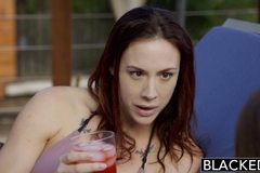 Friends Jade Nile and Chanel Preston Enjoy BBC Together