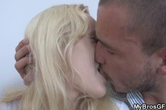 Cute blonde gf cheating
