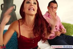 Tattooed redhead Monique Alexander fucking