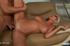 HOT MILF Tittyfucks A Big Dick Before Their FUCKFEST!