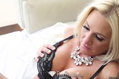 Hot busty milf Alexis Malone is craving some hard cock