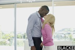 Tiny Blonde Wife Kennedy Kressler Gets Revenge With a Big Black Cock