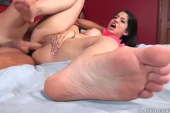 Nadia Ali foot fetish