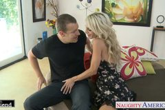 Tattooed blonde Sarah Jessie fucking