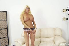 Milf Nikita takes on big cock