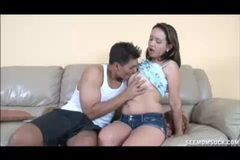 Milf And Teen Dick Play
