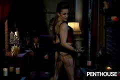 Dani Daniels and James Deen Steampunk