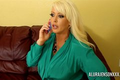 Alura Jenson in Teaching a Christian church boy some lessons