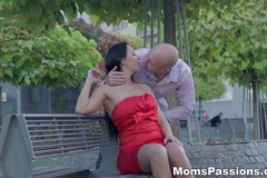 Passionate love with a mommy