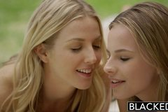 First Interracial Foursome for Beautiful Blondes Karla Kush and Jillian Janson