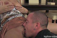 Anastasia Devine Amazing Blowjob
