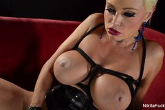 Nikita Von James Vibrates Herself
