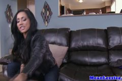 Lesbo Amia Miley threesome with Chloe Chaos and Isis Love