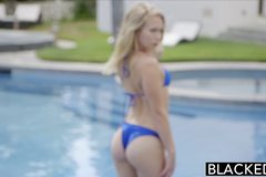 Two BBC and a Pretty Blonde Teen Dakota James
