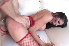 Dava Fox Gets S Big Cock