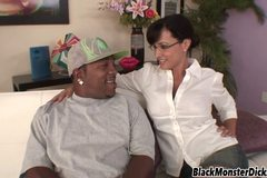 Julia Ann with a Thick Black Cock