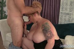 Big titted BBW Kali Kala Lina gets fucked