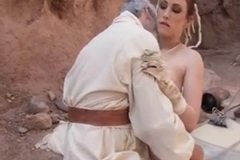 Jennifer is Fucked like the Tusken Raider she is!