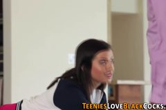 Knockers teen spunk faced