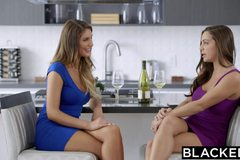 Wives Abigail Mac and August Ames Love Big Black Cock
