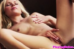 Beautiful porn babe Lena Nicoles solo fun