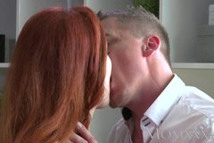 Stunning Milf Redhead has her tight snatch fucked