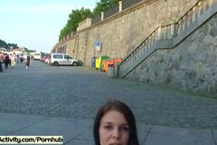 Spectacular Public Nudity With Hot Teen Tanja