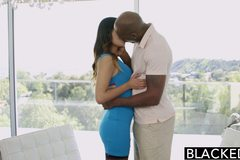 Tight Asian Babe Jade Luv Screams on Massive Black Cock