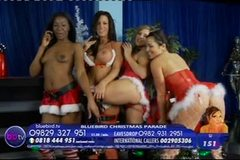 SJ, Eden Black, Morgan Preece & Charlie Monaco Christmas Bluebird TV 2010